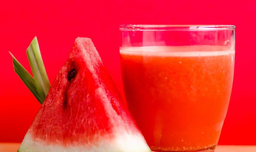 Recette de smoothie à la pastèque |  Alimentation saine