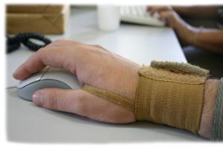 Douleurs aux poignets et bureau