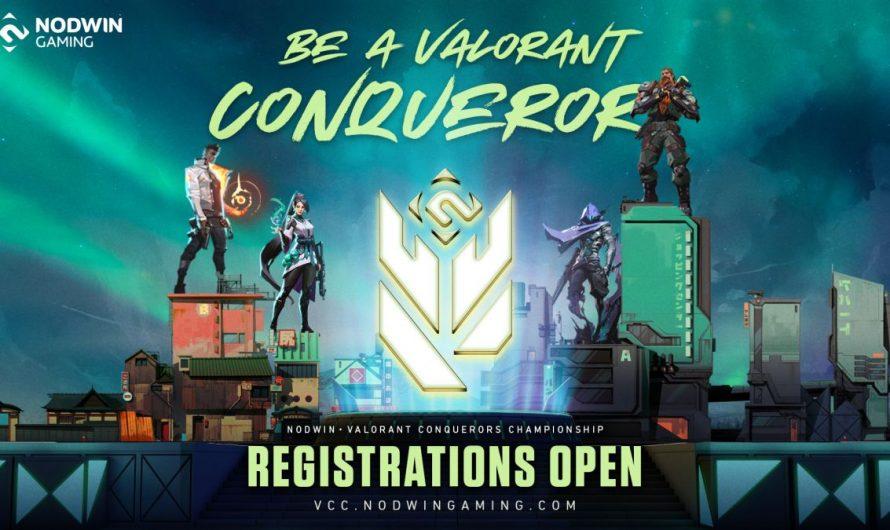 L'inscription au championnat Valorant Conquerors est maintenant ouverte
