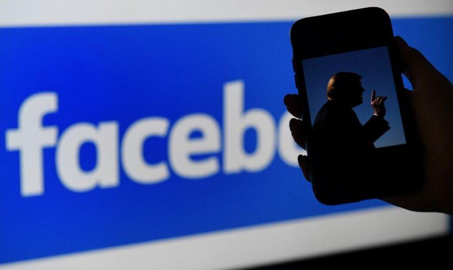 Facebook interdit l'ancien président américain Trump pendant 2 ans
