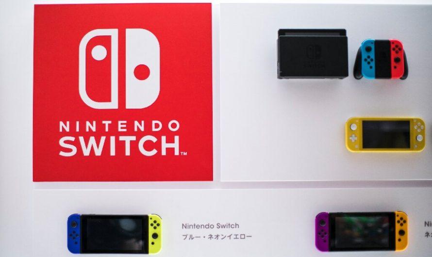 Nintendo met en lumière les jeux Switch sans mise à jour de la console