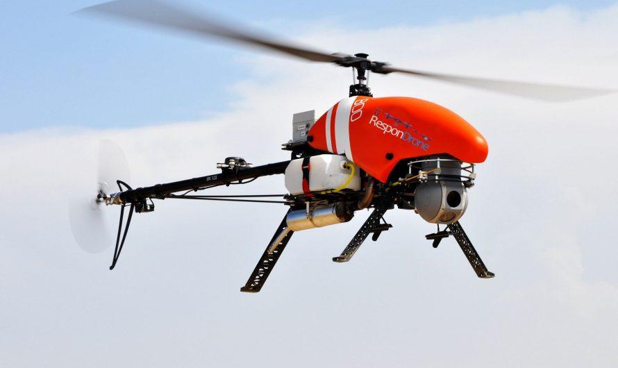Un drone avec technologie de cartographie 3D fournit aux premiers intervenants des données en temps quasi réel
