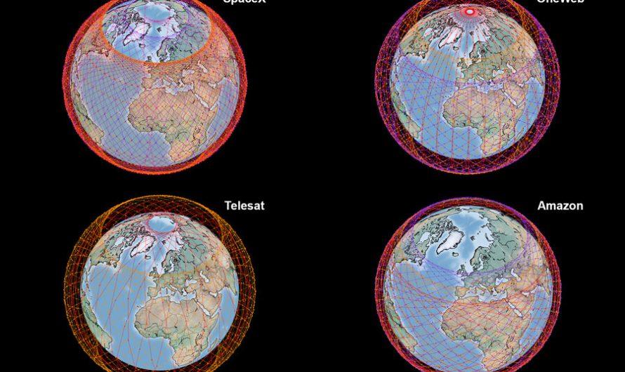 Une étude compare les quatre plus grands mégaréseaux Internet