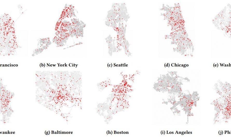 Une étude estime la prévalence des caméras de vidéosurveillance dans les grandes villes du monde