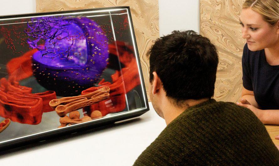 Looking Glass développe des écrans holographiques de deuxième génération