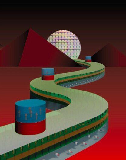 Le contrôle électrique des dispositifs de paroi de domaine basé sur des jonctions tunnel magnétiques perpendiculaires