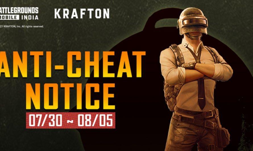 Krafton interdit 336 736 comptes BGMI pour tricherie dans le jeu