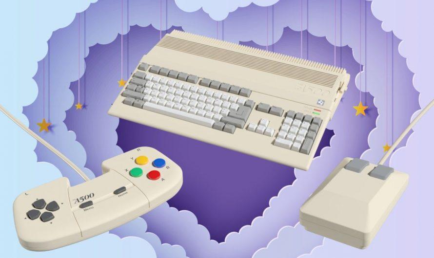 Désolé Nintendo, Sega et Sony – l'A500 Mini est la seule petite console rétro que je veux