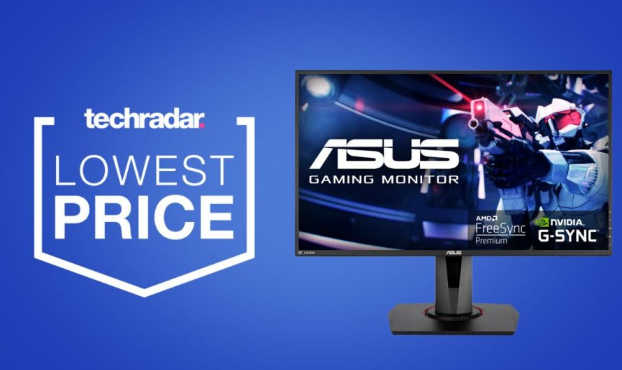 Ce moniteur de jeu Asus G-Sync est de retour à son prix le plus bas jamais enregistré