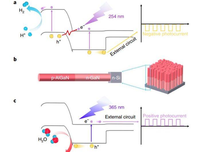 Une stratégie pour manipuler la direction du photocourant dans les nanofils à hétérojonction pn