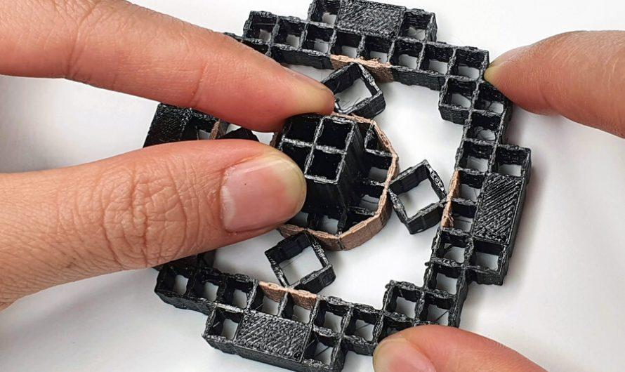 Objets imprimés en 3D qui détectent la façon dont un utilisateur interagit avec eux
