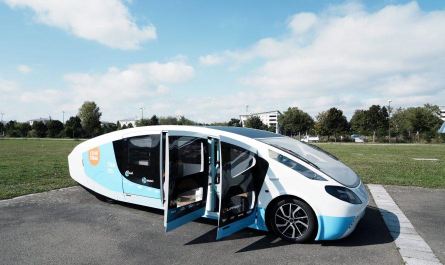 Road trip d'étudiants néerlandais en mobil home solaire